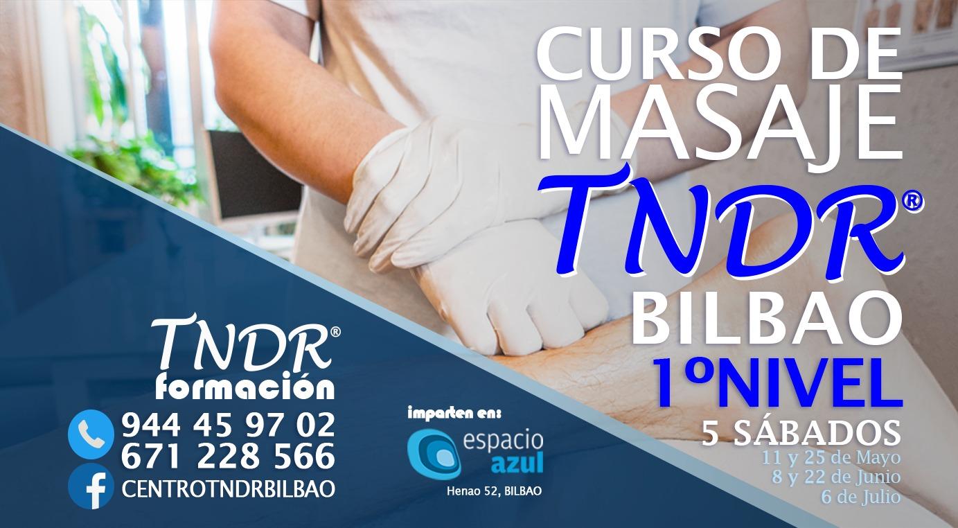 CURSO presencial de MASAJE TNDR®. 1º Nivel.