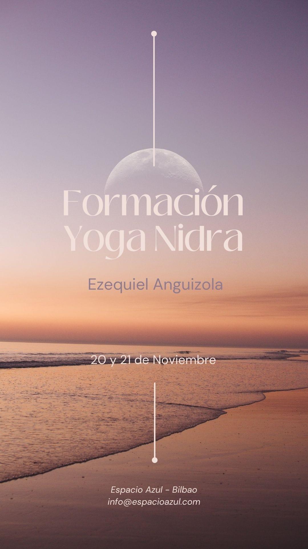 FORMACIÓN INTERNACIONAL DE NYASA YOGA NIDRA (se entrega Certificación avalado por la OIYAY)