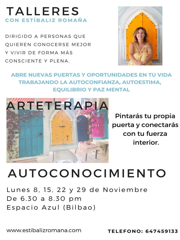 TALLER DE AUTOCONOCIMIENTO Y ARTETERAPIA